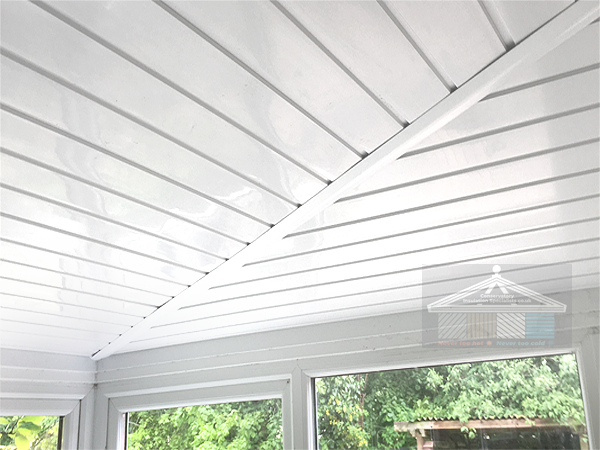 new internal insulated conservatory roof